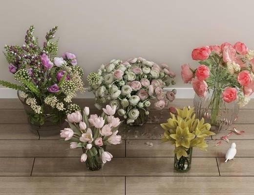 花卉, 百合花, 植物, 盆栽, 绿植