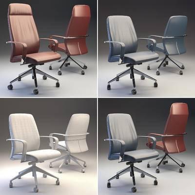 皮革, 办公椅, 现代, 椅子