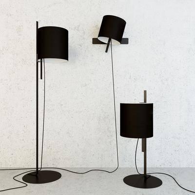 落地灯, 壁灯, 台灯, 现代