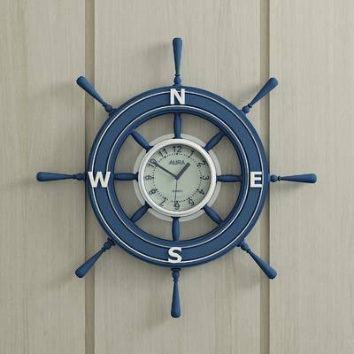 船舵, 挂件, 挂钟, 墙饰, 北欧