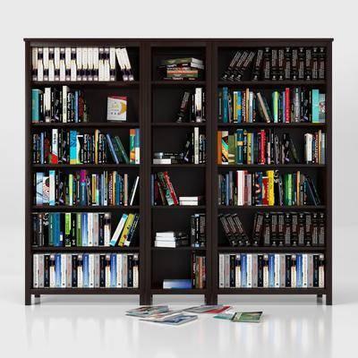 现代, 现代书柜, 个性书柜, 整体书柜, 书柜组合, 书架, 书柜