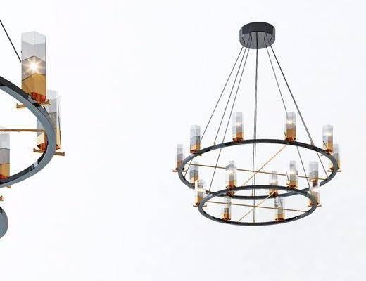 吊燈, 燈具組合, 燈具