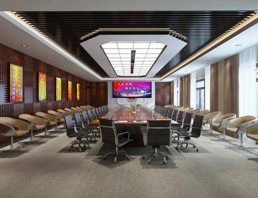 會議室, 桌椅組合, 辦公桌椅, 現代