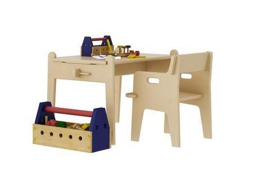 現代, 兒童桌椅, 組合