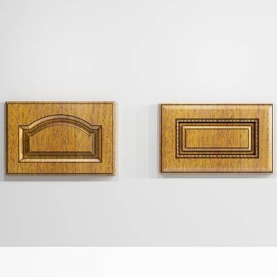 现代, 实木, 柜门, 门板