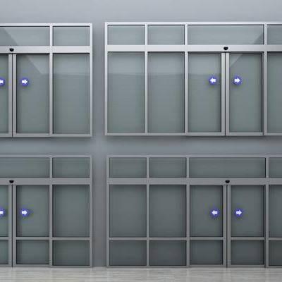 门, 自动门, 现代
