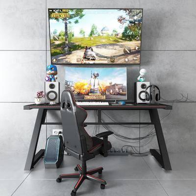 后现代, 电脑桌, 单体