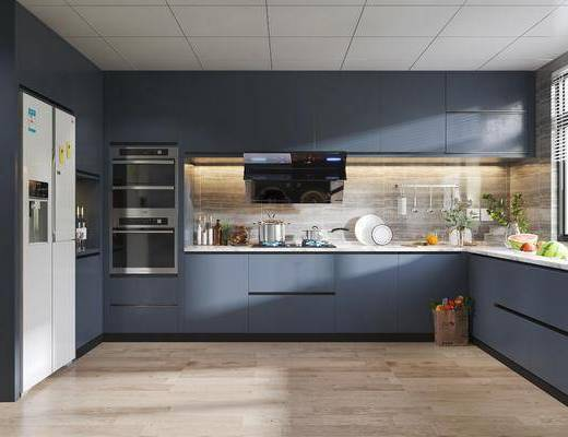 廚房, 櫥柜組合, 廚具組合, 現代