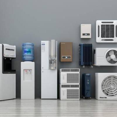现代, 饮水机, 空调