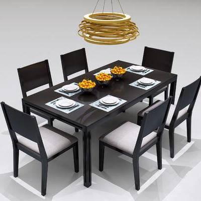现代餐桌椅, 北欧餐桌椅, 现代吊灯, 北欧吊灯, 中式吊灯, 吊灯, 现代, 餐桌椅, 北欧
