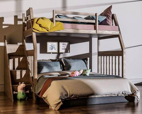 单人床, 上下铺, 床具组合