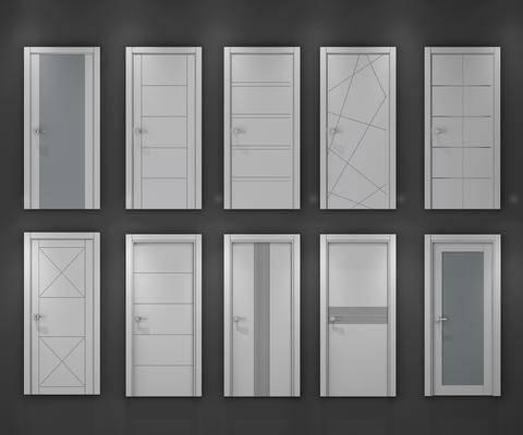 门, 门构件, 构件, 现代门, 木门