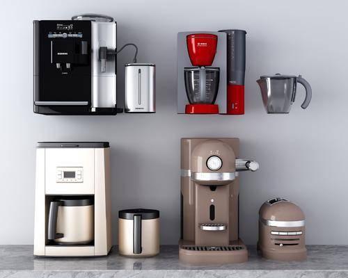 咖啡机, 榨汁机, 电器