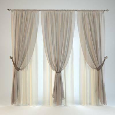 窗帘, 纱帘, 现代