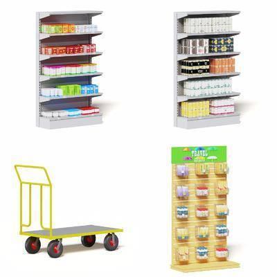 現代貨架, 貨架, 超市貨架