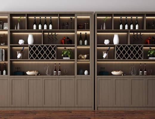 装饰柜, 酒柜, 置物柜