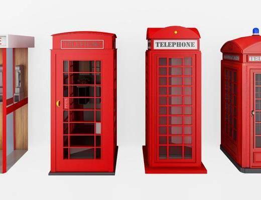 电话亭, 电话