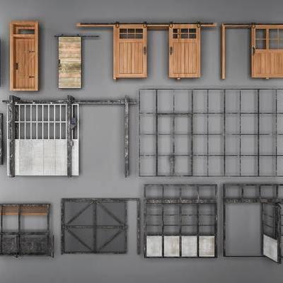 门, 床, 工业门, 推拉门, 移门, 木门