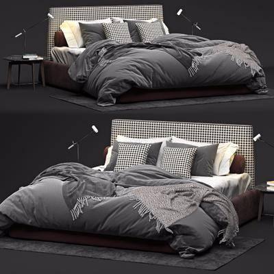 现代, 双人床, 组合