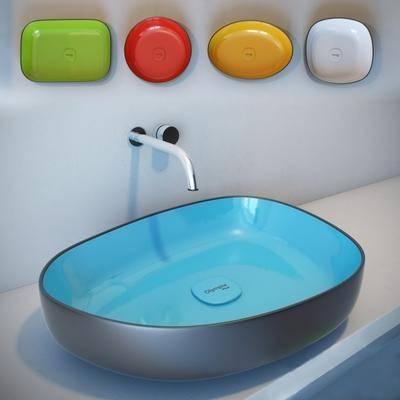 洗手盆, 洗手台, 水龙头, 现代