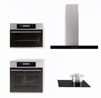 现代烤箱, 油烟机, 厨房电器