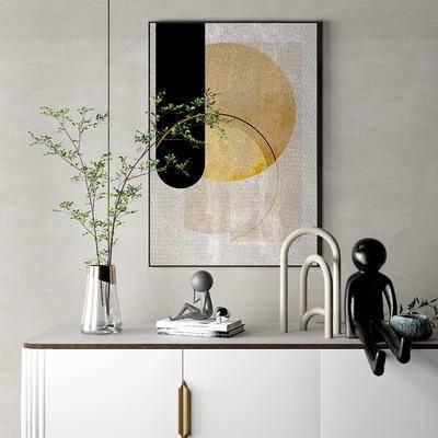 现代饰品摆件, 花瓶, 工艺品摆件