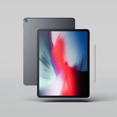 现代电脑, 电脑, 苹果电脑, 平板