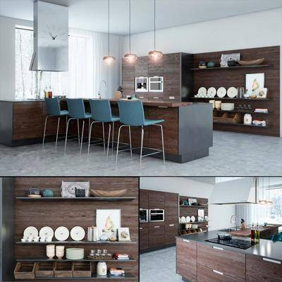 厨房, 厨房器具, 现代