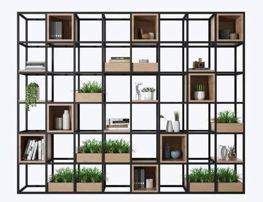 装饰柜架, 置物架, 铁艺架