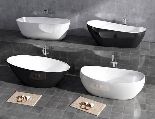 浴缸, 洗浴组合