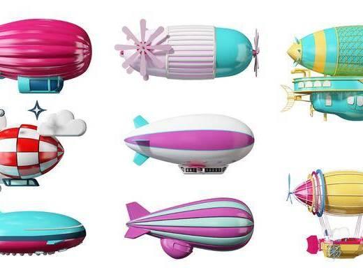 现代, 飞艇, 单体