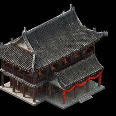 古建筑, 中式, 双十一