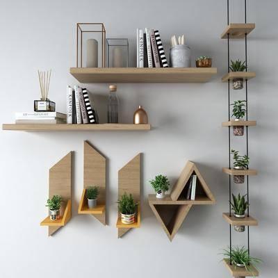 挂件, 盆栽, 装饰柜架, 墙饰, 吊架