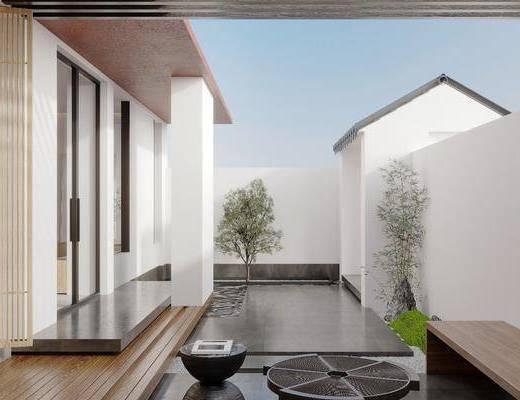 家装, 现代庭院