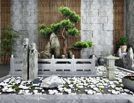 园艺小品, 景观小品, 园艺