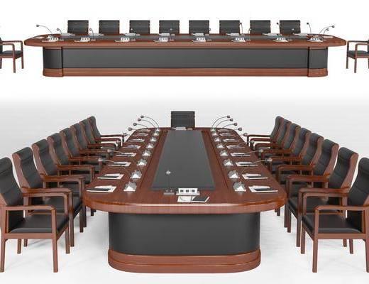 现代, 会议桌, 组合