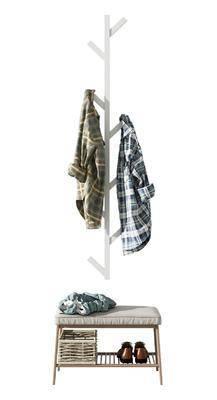 现代, 挂衣架, 组合