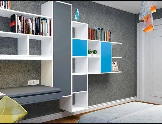 现代儿童房, 儿童房, 卧室, 现代卧室