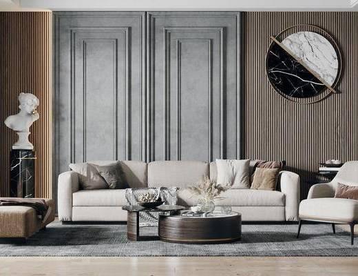 现代沙发茶几组合, 现代沙发, 沙发茶几组合