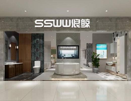 现代卫浴展厅