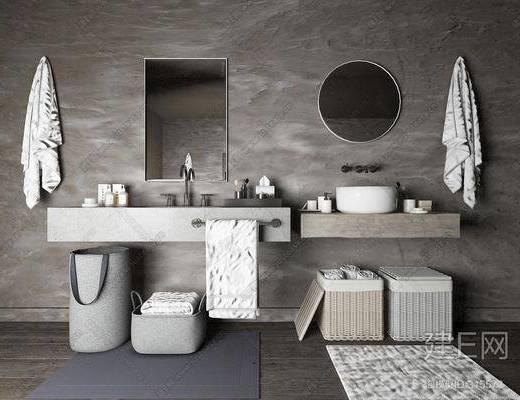 卫浴架, 洗面台, 卫浴, 卫浴组合