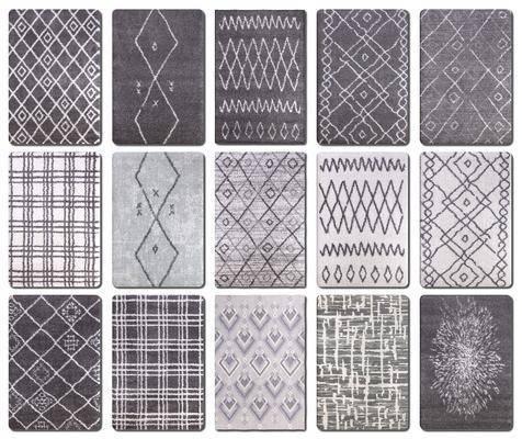 北欧, 地毯, 单体