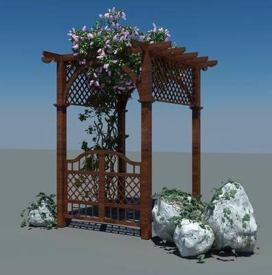 栅栏, 花架, 现代