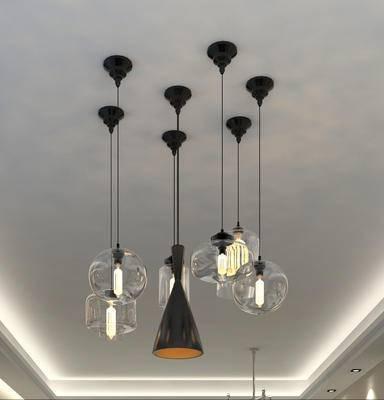 吊灯, 餐厅吊灯, 玻璃吊灯, 艺术吊灯, 多头吊灯, 金属吊灯, 现代