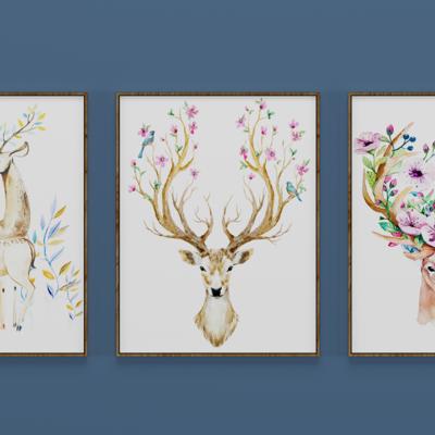 现代装饰画, 挂画, 壁画