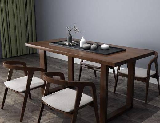 桌椅組合, 中式