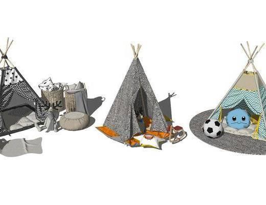 帐篷, 玩具