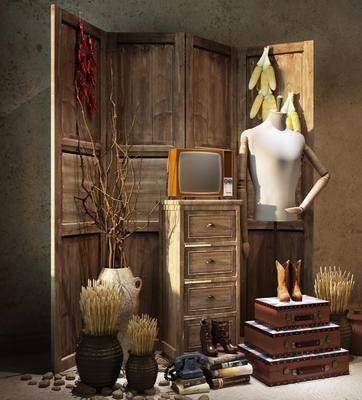 饰品摆件, 摆件组合, 装饰品, 陈设品, 摆件, 中式