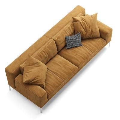 布艺沙发, 客厅沙发, 时尚沙发, 多人沙发