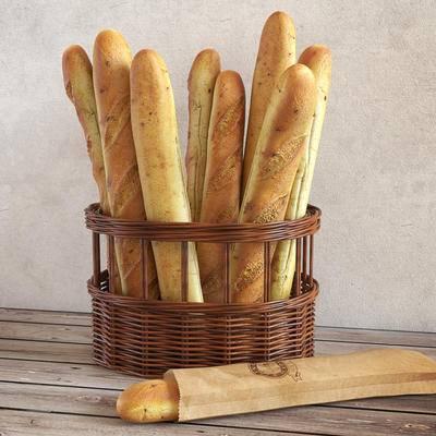 食物, 面包, 现代面包食物组合, 现代